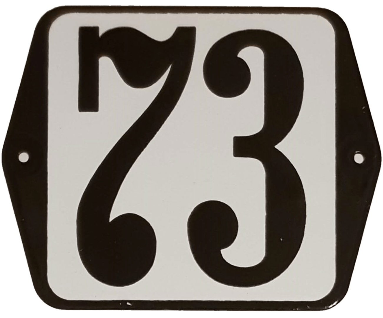 Huisnummer standaard nummer 73