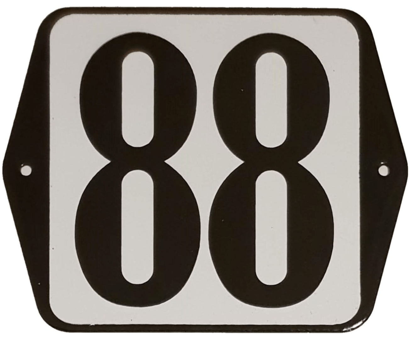 Huisnummer standaard nummer 88