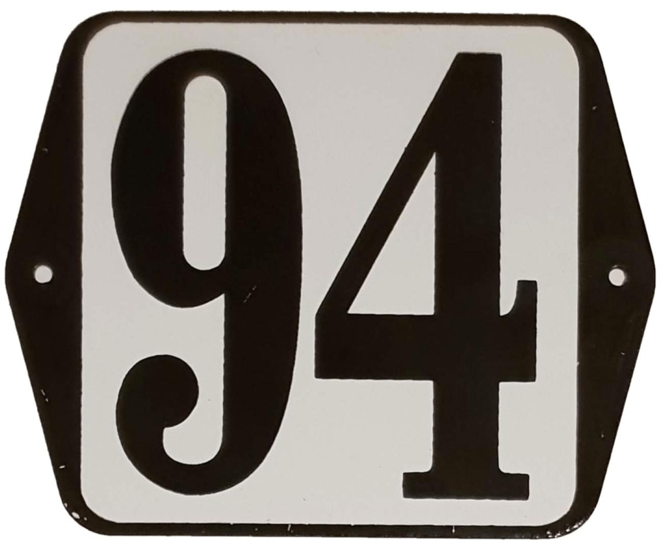 Huisnummer standaard nummer 94