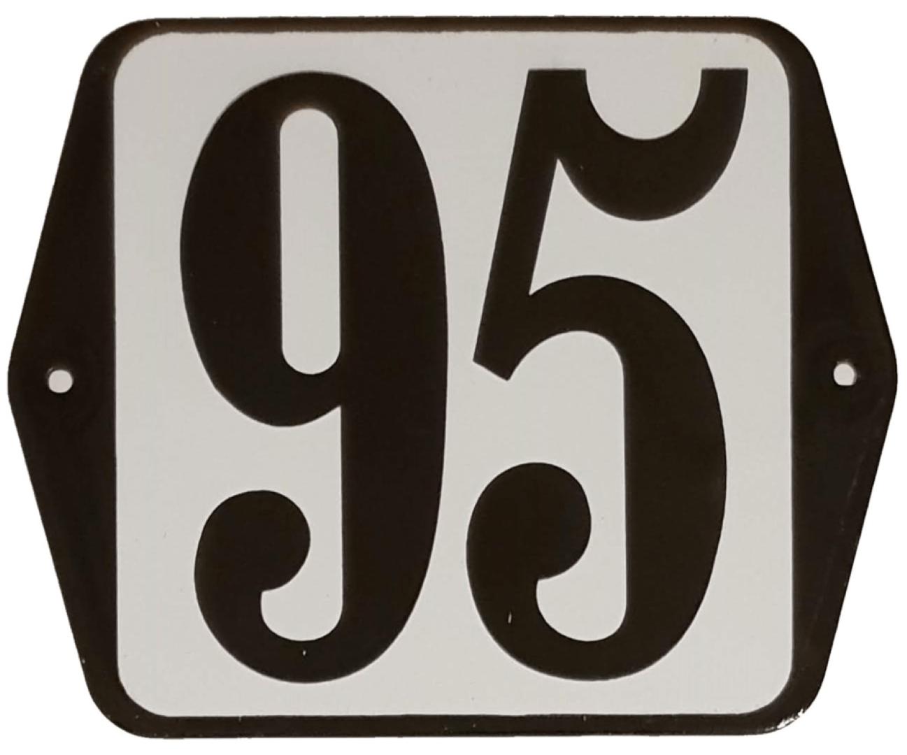 Huisnummer standaard nummer 95