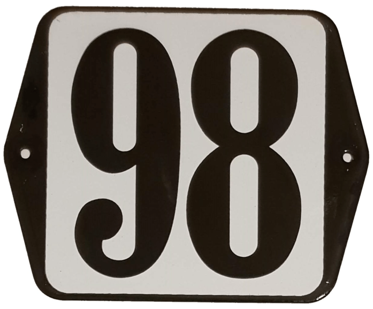 Huisnummer standaard nummer 98