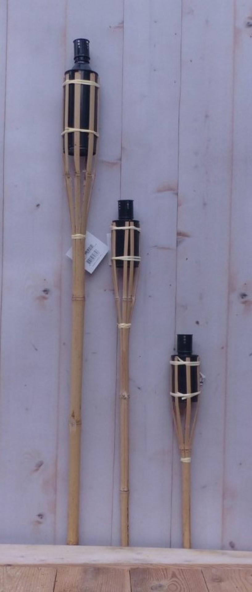 Fakkel Bamboe 100 cm