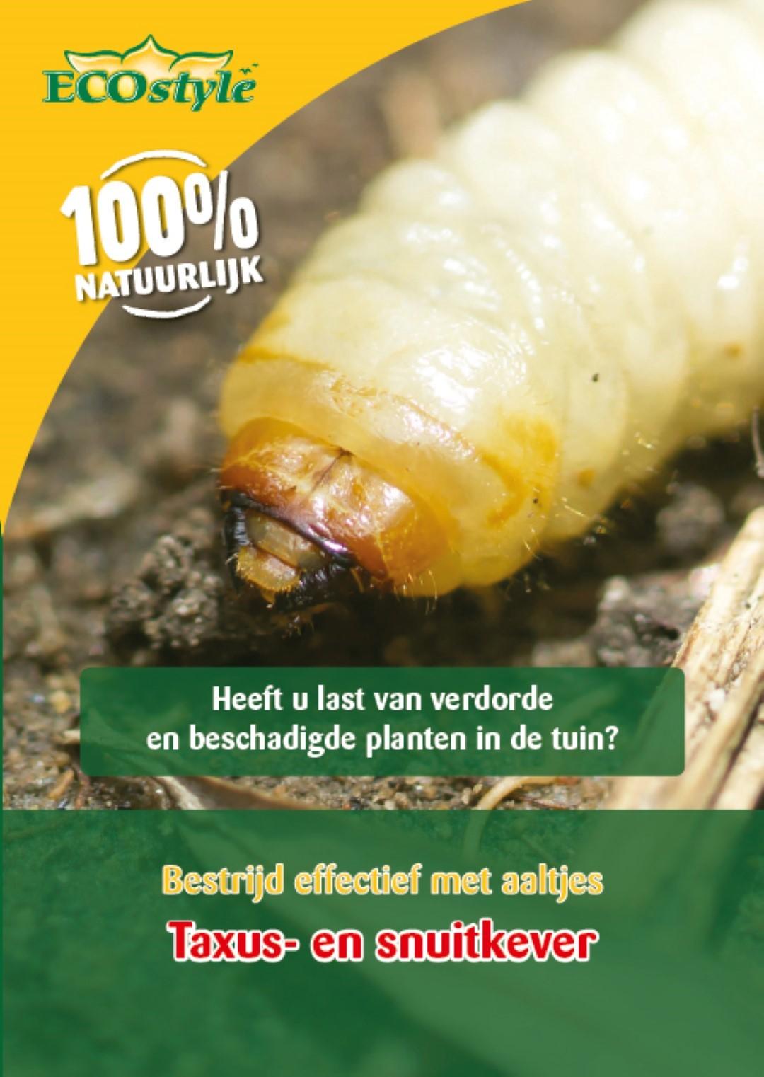 Aaltjes L tegen larven taxus- en snuitkever 50 miljoen/100 m2