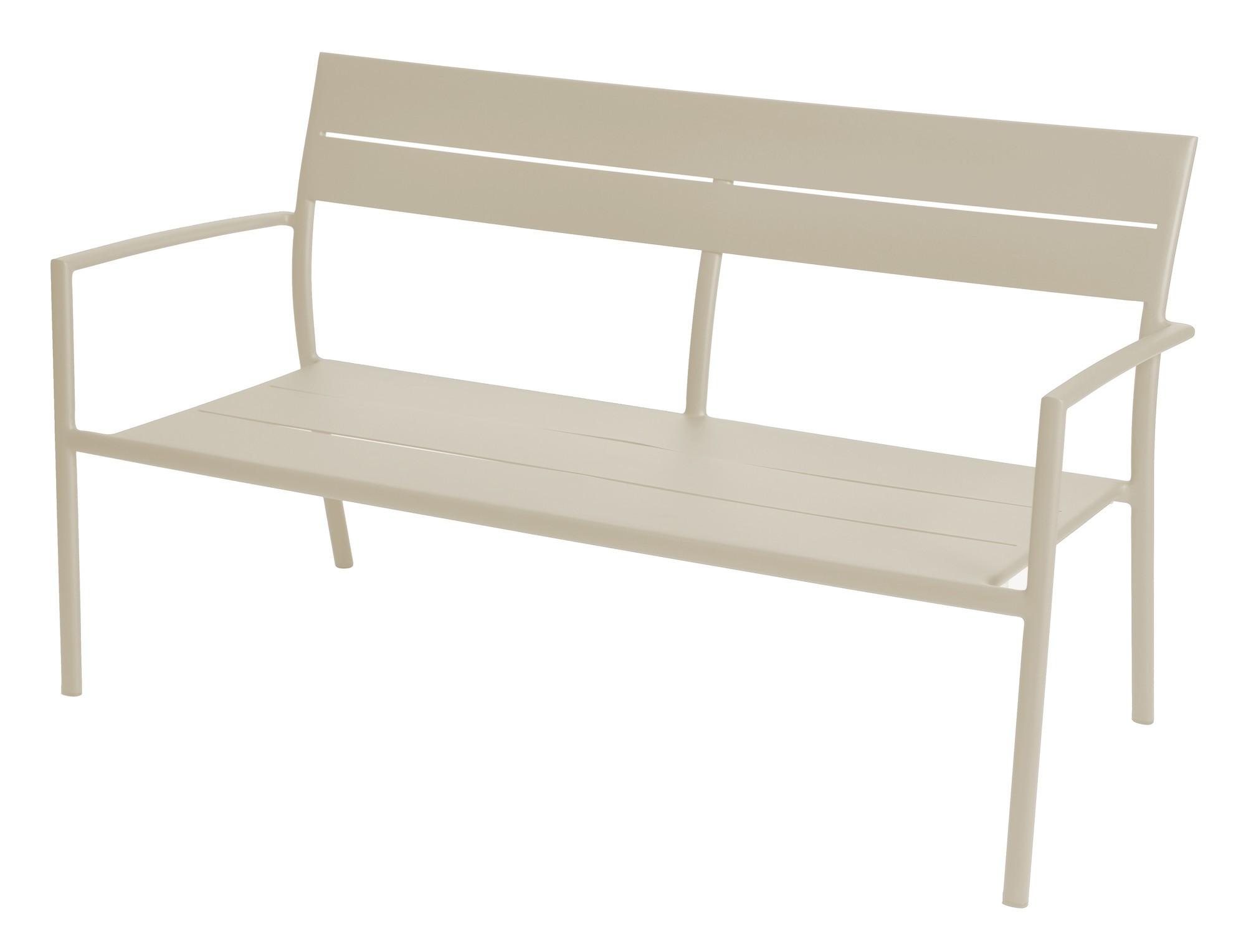 Grace stacking sofa alu pearl grey