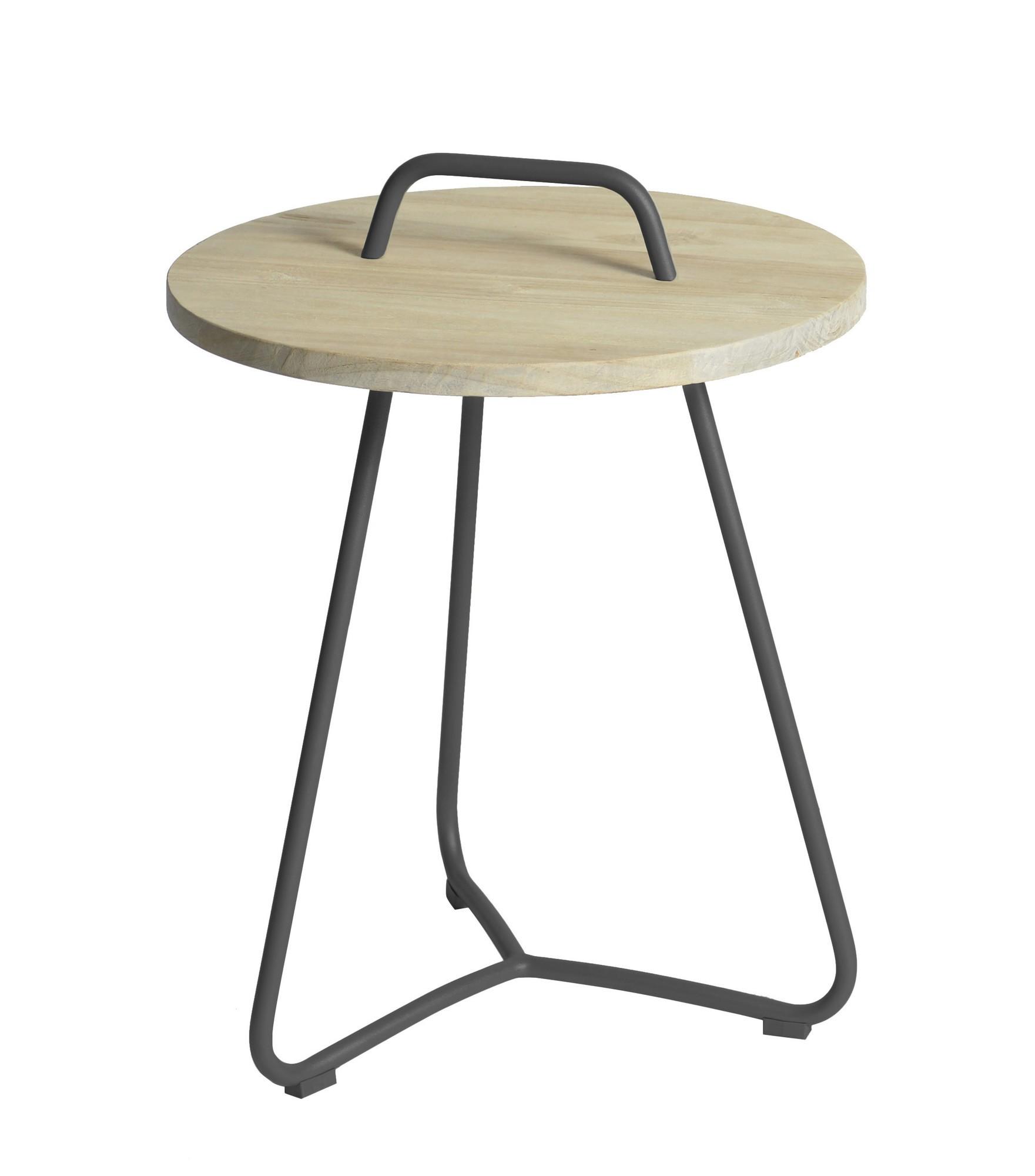 Ava side table diameter48,5x63 cm anthracite
