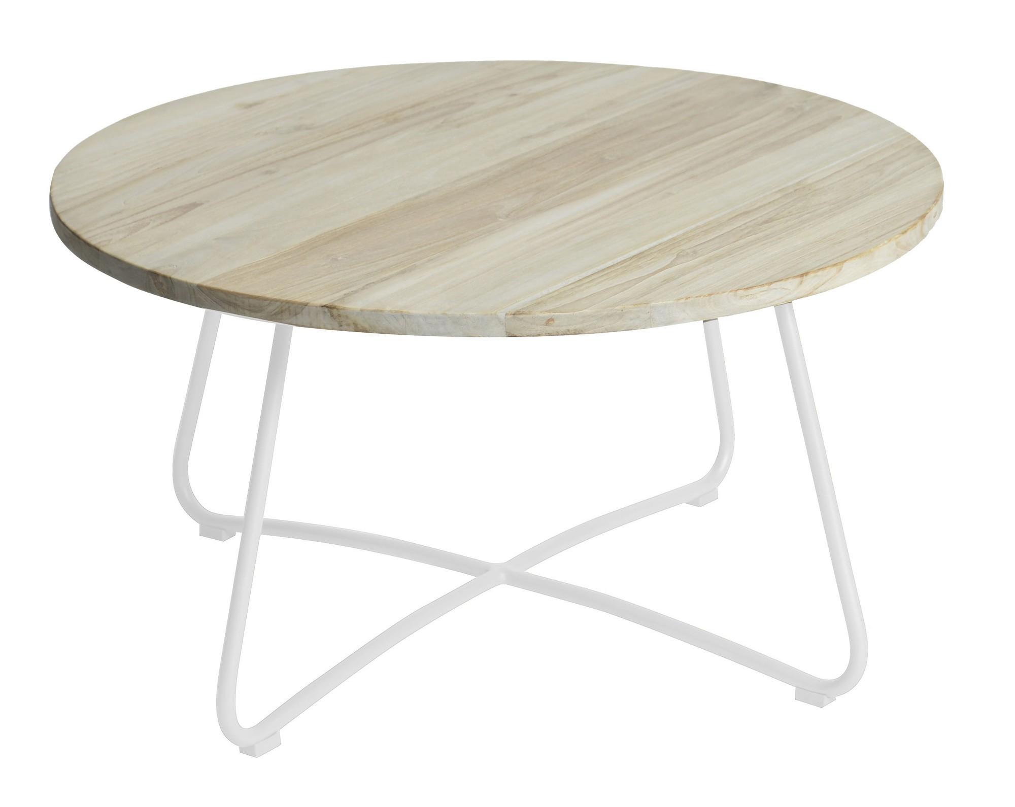 Lily coffee table diameter80,5x43 cm stonewhite