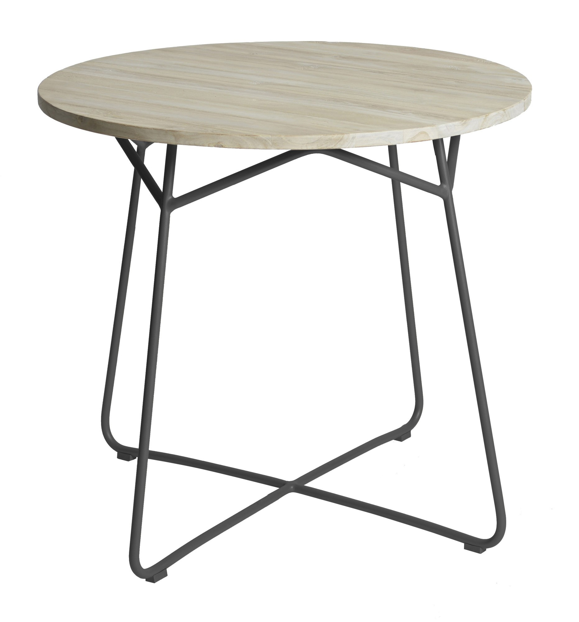 Lily table diameter95x74 cm anthracite
