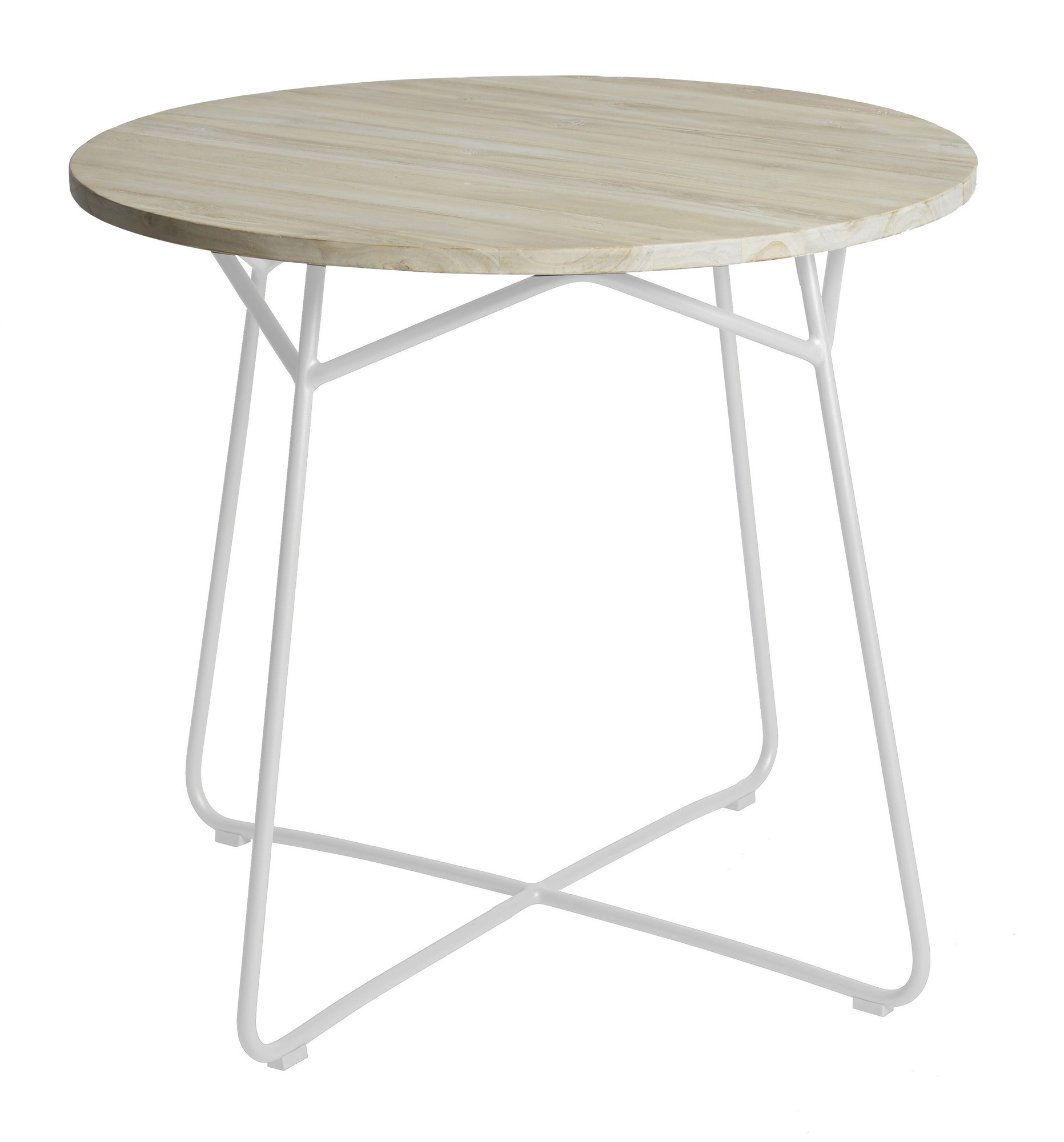 Lily table diameter80x74 cm stonewhite