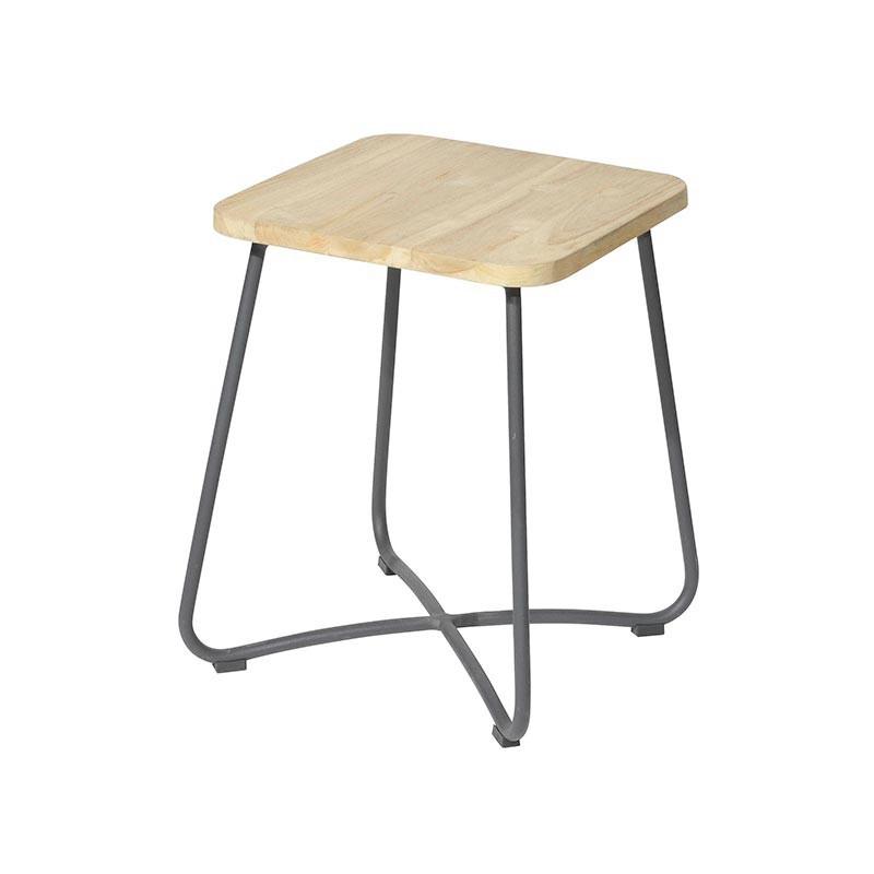 Liz side table 40x40x50 cm anthracite