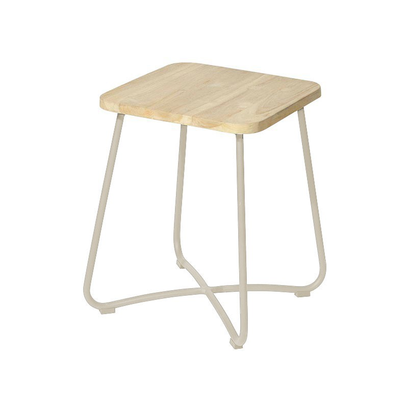 Liz side table 40x40x50 cm taupe