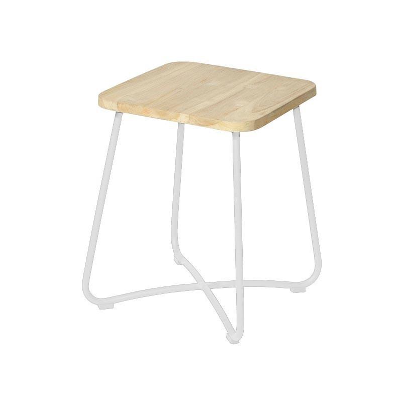 Liz side table 40x40x50 cm stonewhite