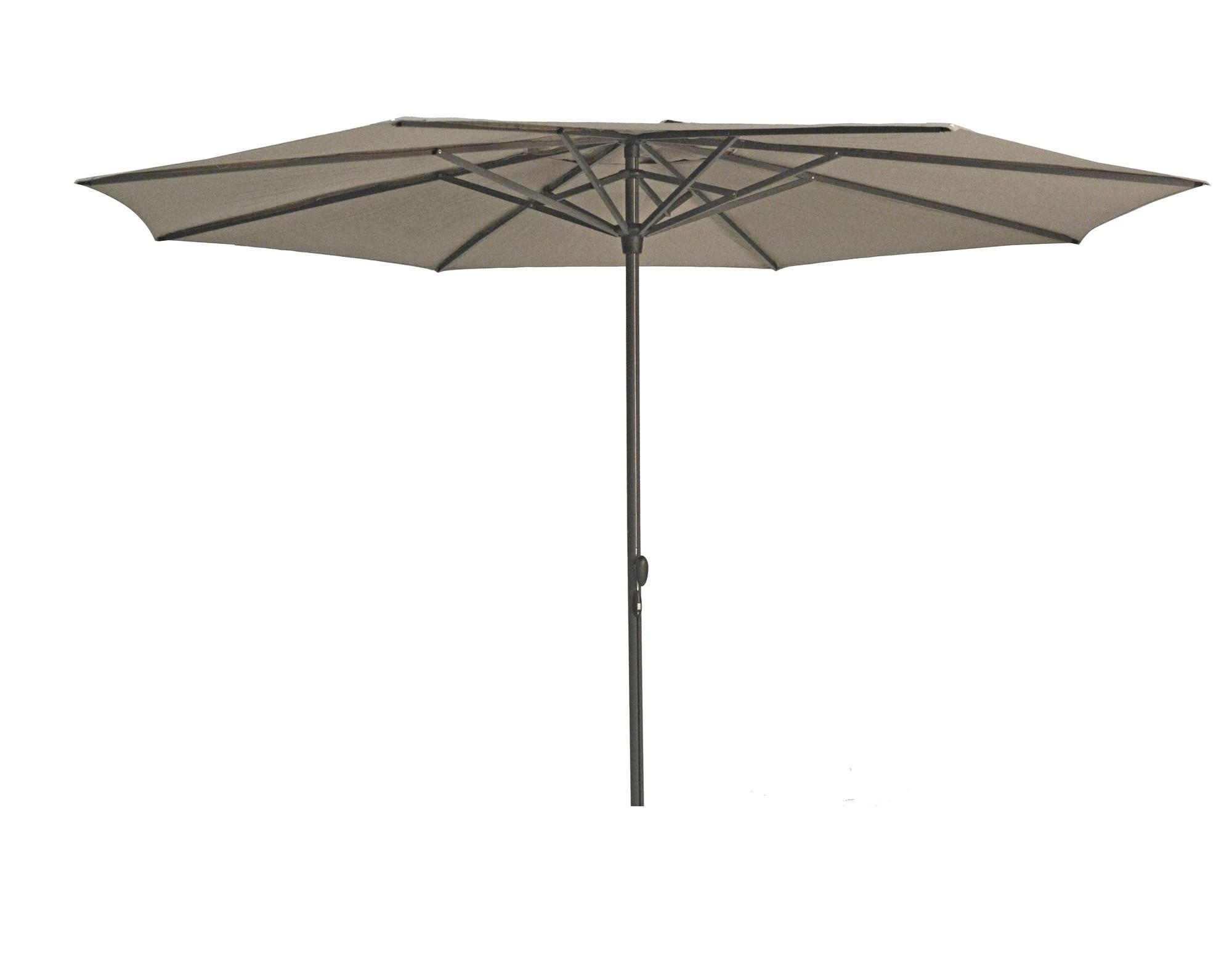 Stokparasol Sintra parasol dia 330 cm taupe