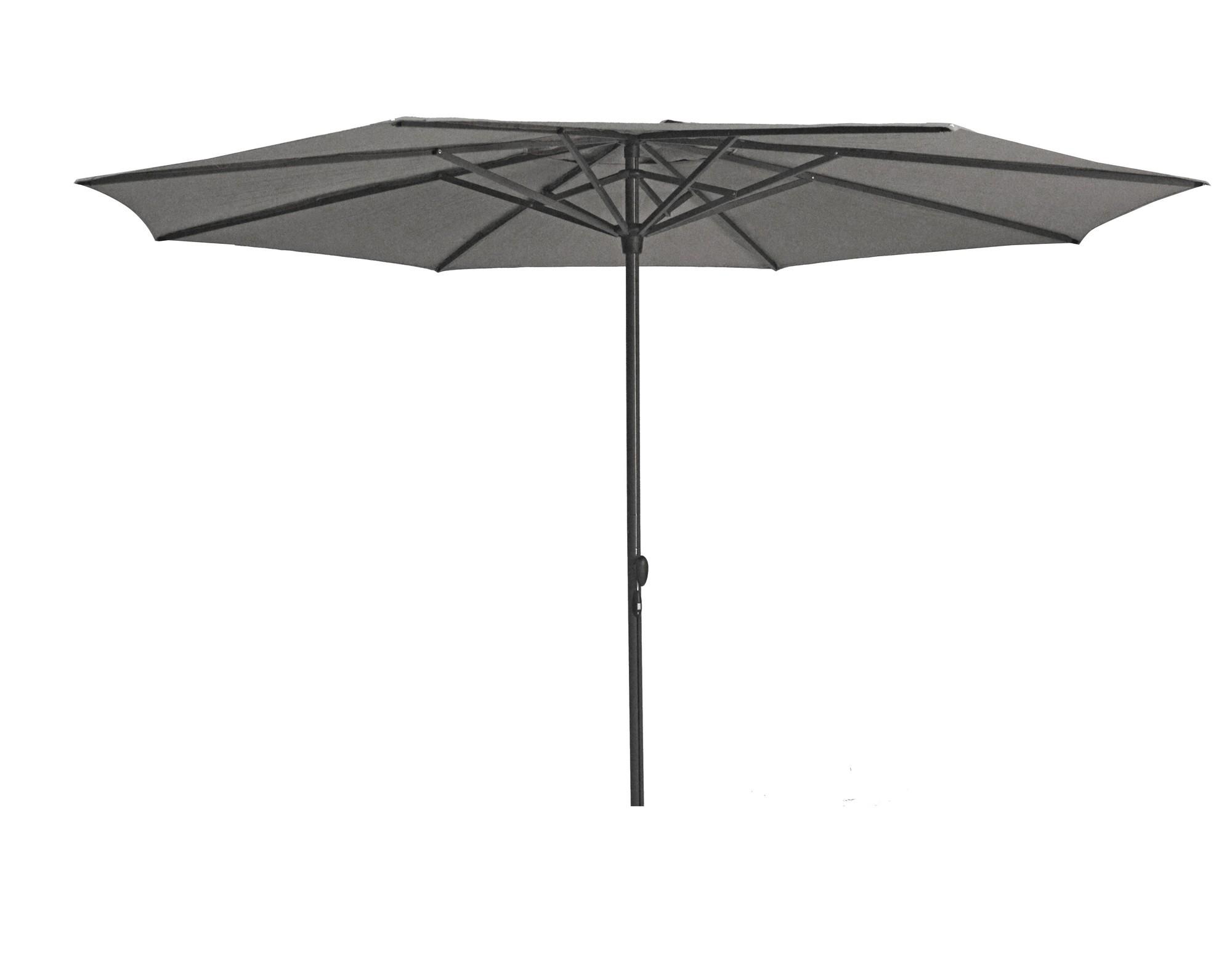 Stokparasol Sintra parasol dia 330 cm donkergrijs