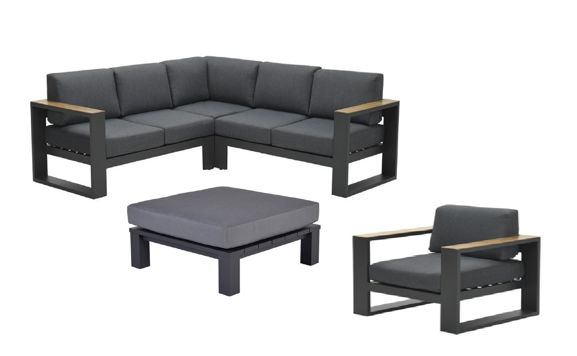 Cube 5delige loungeset OWN
