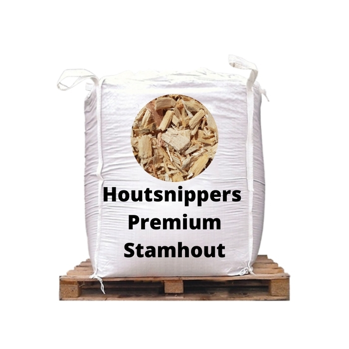 Houtsnippers Premium Stamhout 5m3