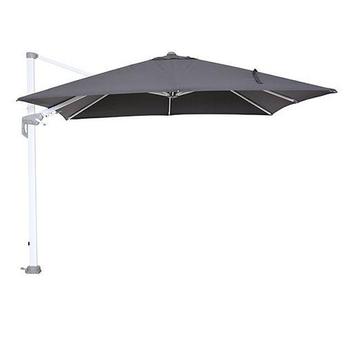 Hawaii parasol 300x300 wit/ donker grijs