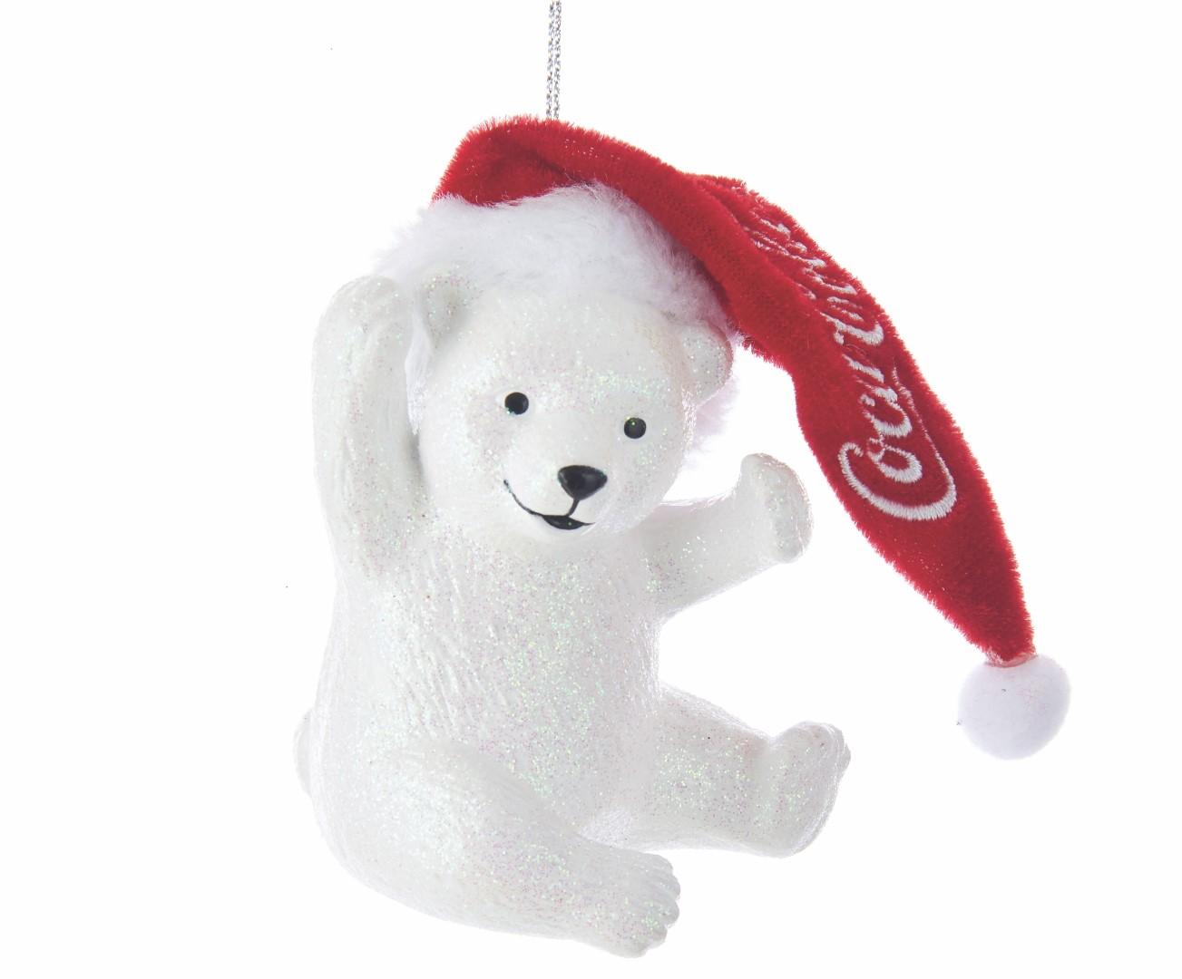 Coca-Cola Cub Polar Bear with Hat