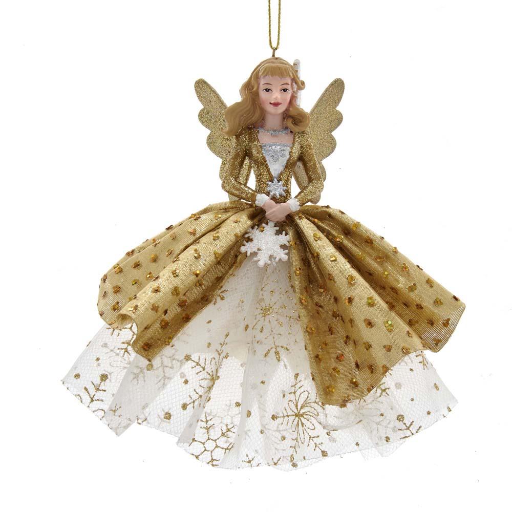 Ornament Gold kunststof h12 cm