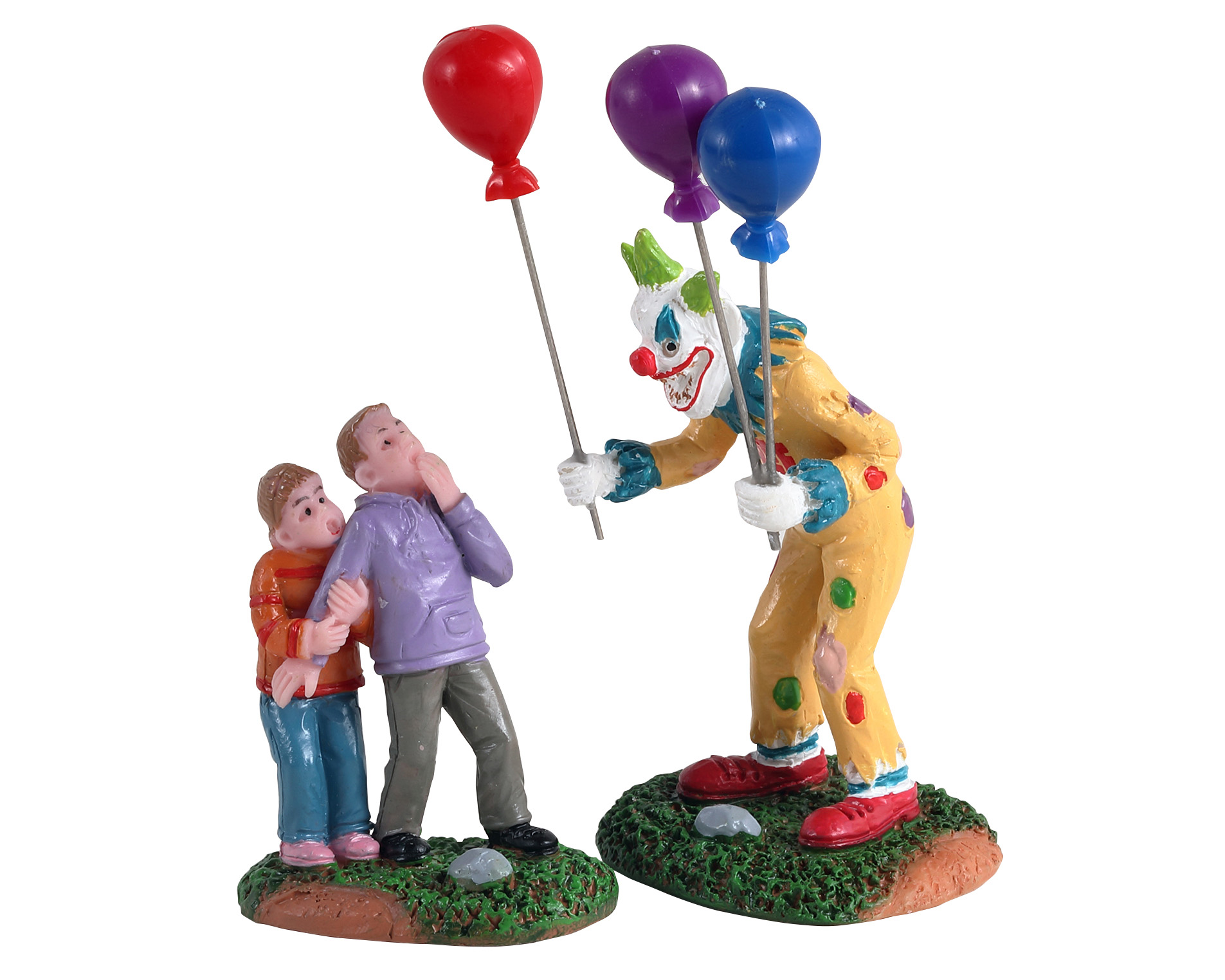 Creepy balloon seller, set of 2