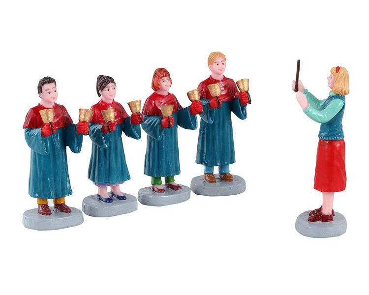 Handbell choir, set of 5