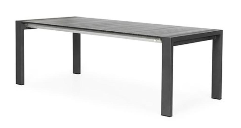 Rialto Verstelbare Tuintafel Alu 213/269x100x75 cm