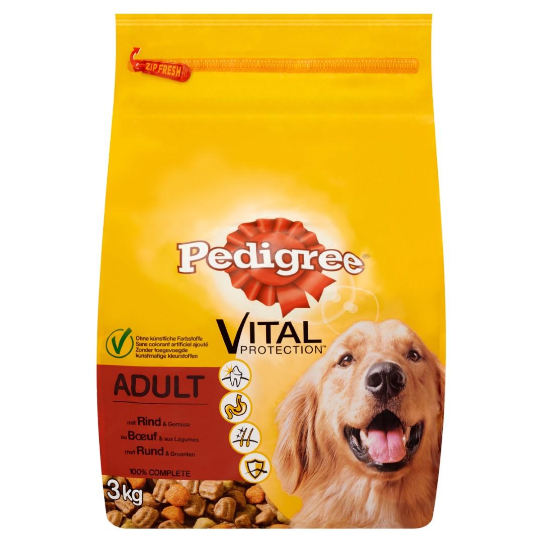 Hondenvoer Droog Adult Rund 3Kg Pedigree