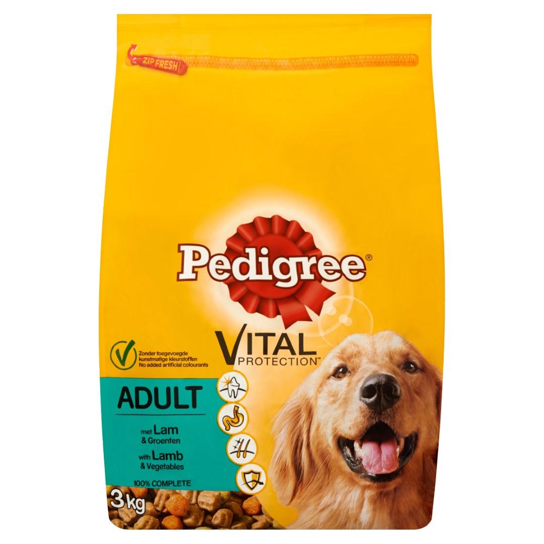 Hondenvoer Droog Adult Lamsvlees 3Kg Pedigree
