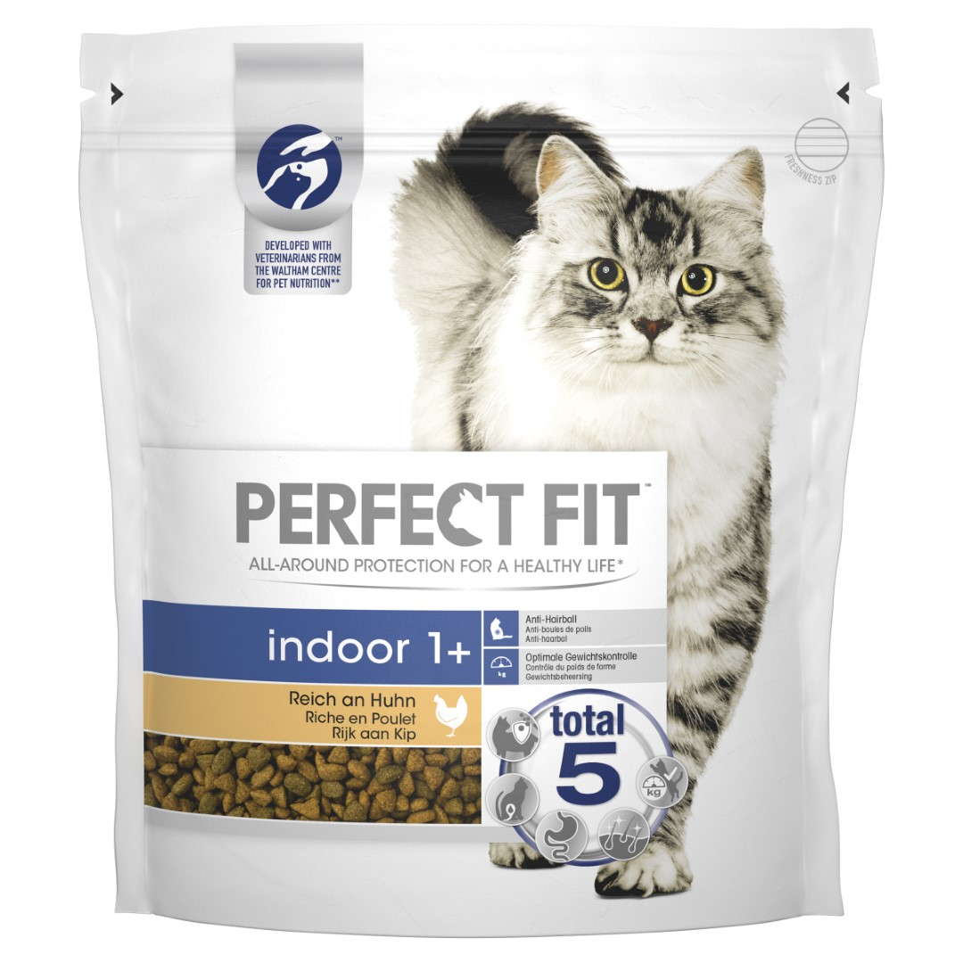 Kattenvoer Droog Indoor Kip zak 1,4 kg Perfect fit Mars