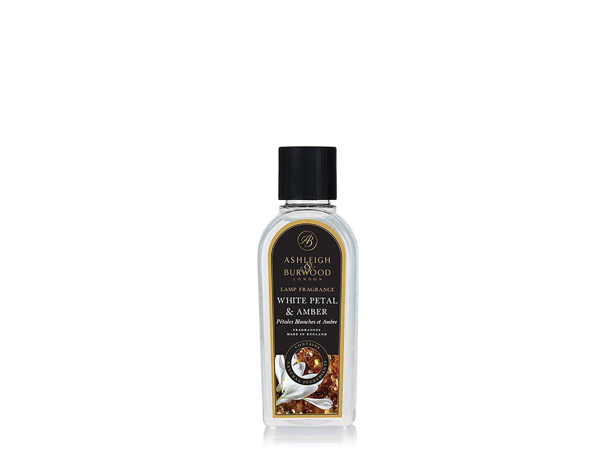 Geurlamp olie White Petal & Amber S