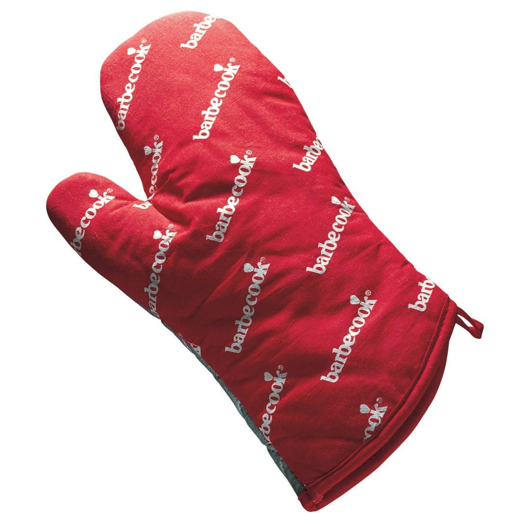Barbecook handschoen uit katoen en aluminiumisolatie rood 28cm