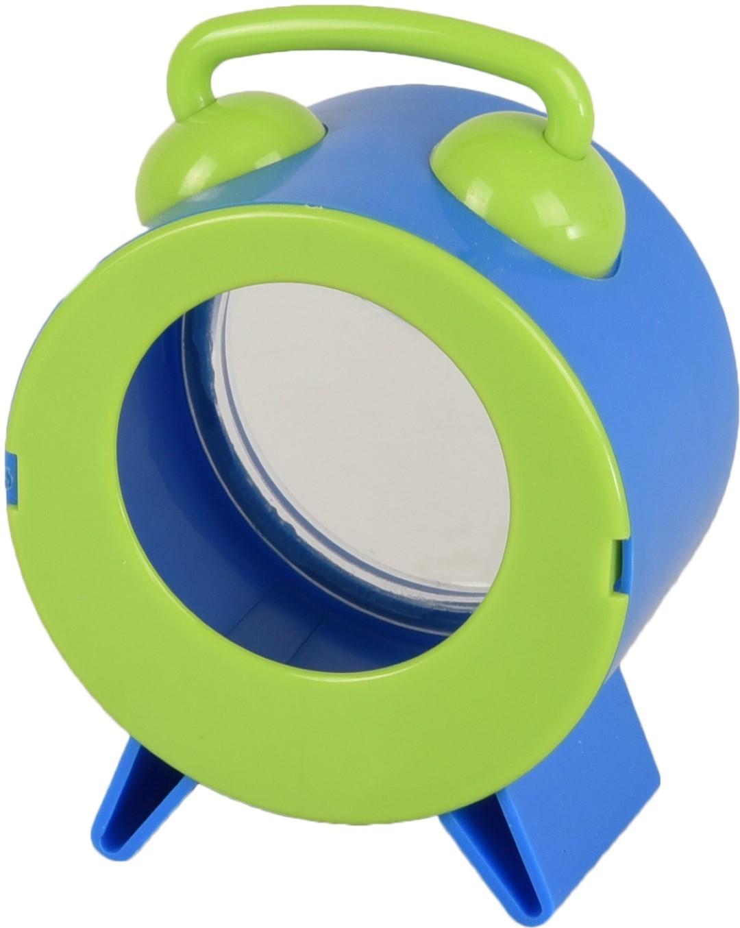 Knaagdierspeelgoed bertrand wekker blauw 8,5x7,5x12 cm Flamingo