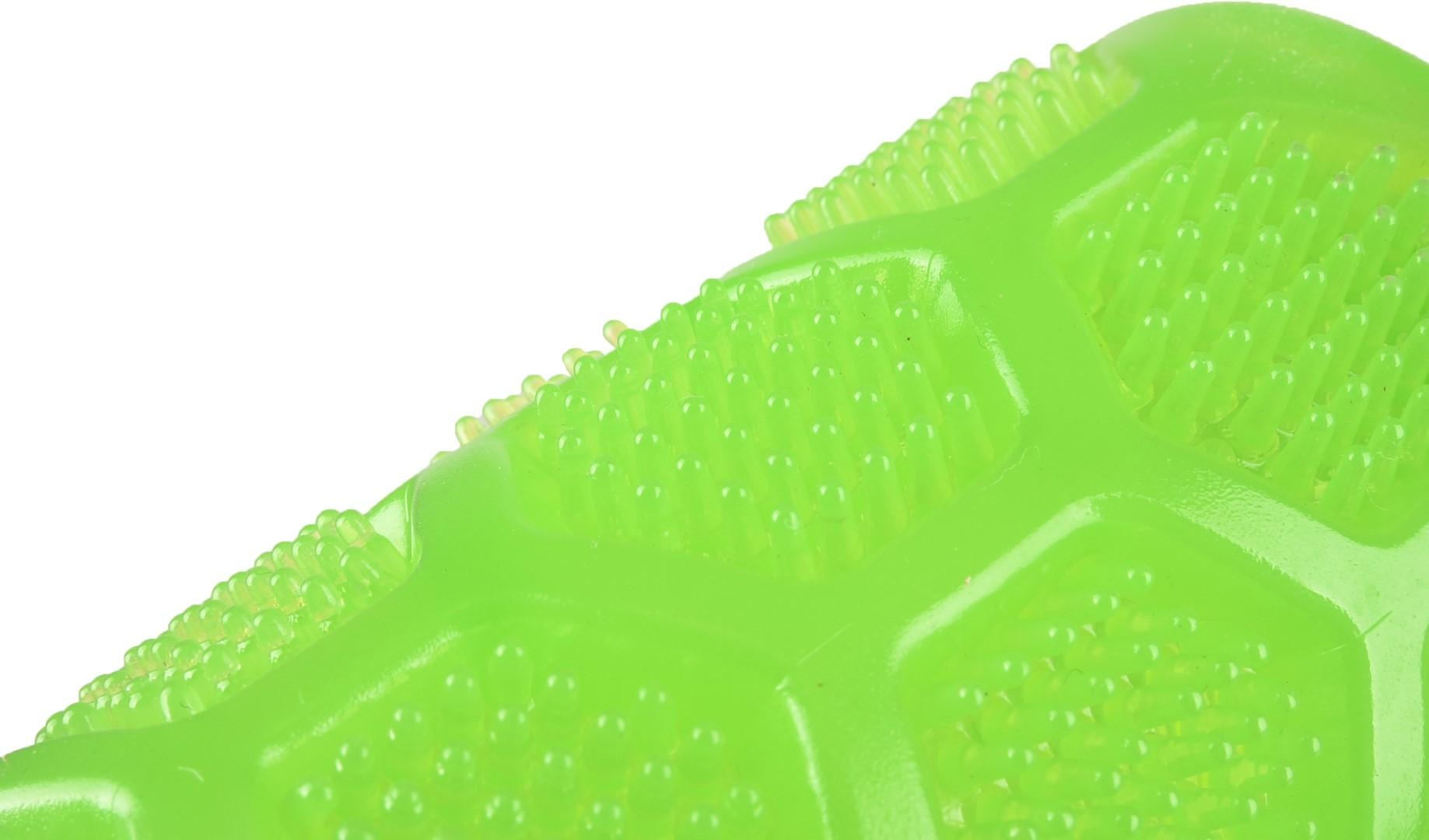 Hondenspeelgoed tpr krico dental squeaky stick groen 16 cm Flamingo