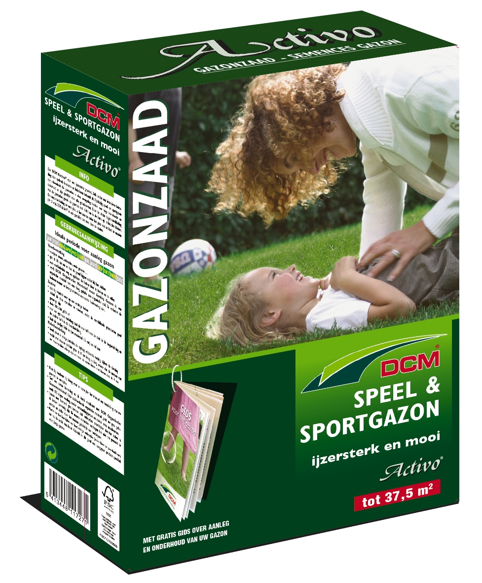Speel & sportgazon graszaad activo 0,75 kg