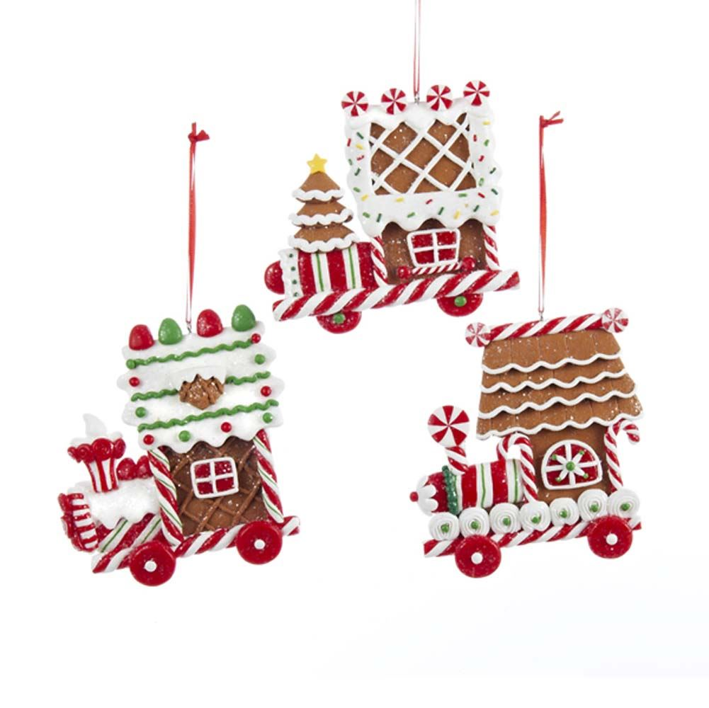 Claydough Gingerbread Train 4 Inch
