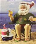 Beach Santa Set 2 pcs 8 Inch