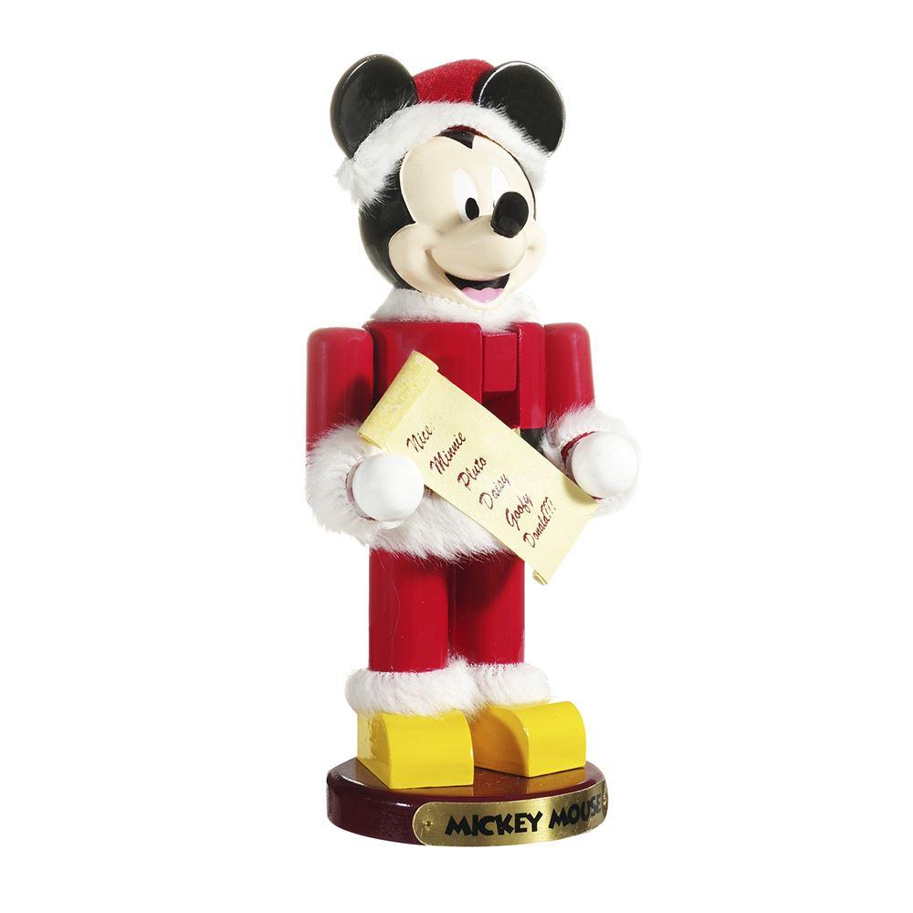 Santa Mickey Mouse Nutcracker 10 Inch