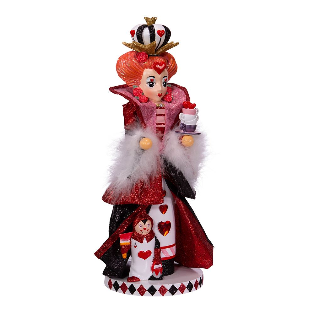 Hollywood Queen Of Hearts Nutcracker 17.5 Inch