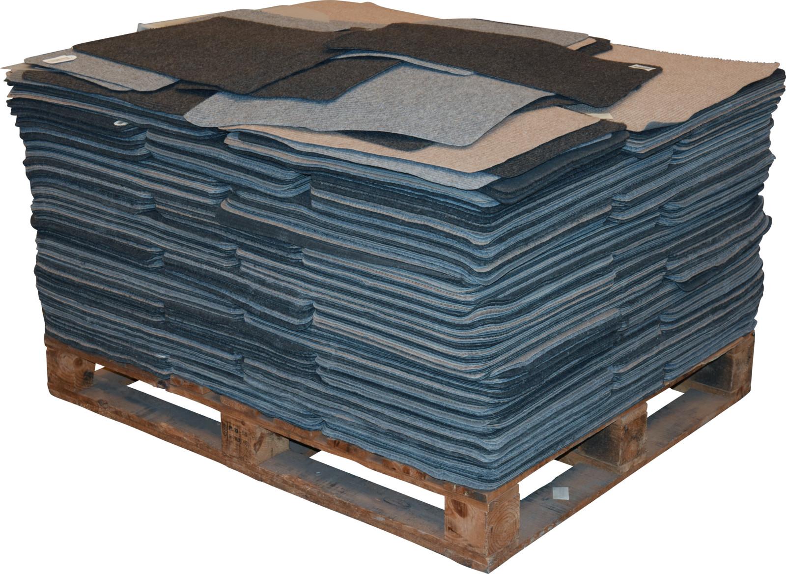 Nampook Deurmat 60x40 cm 3 ass kleuren