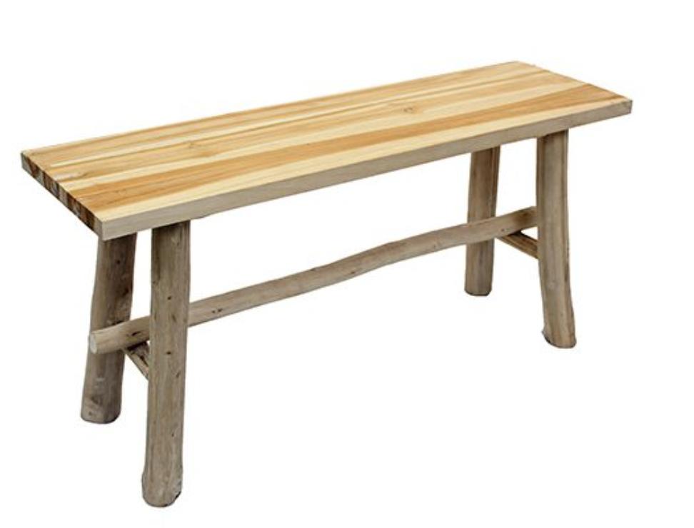 Teak Bench 100 cm