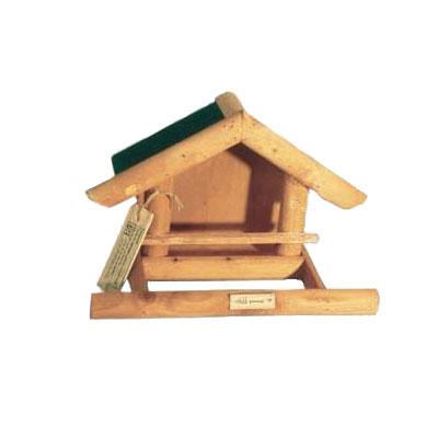 Boszanger leislag groen vogelhuisje