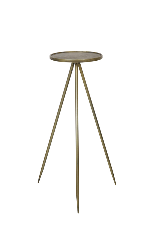 Zuil diameter 35 x 98,5 cm Envira antique gold Light & Living