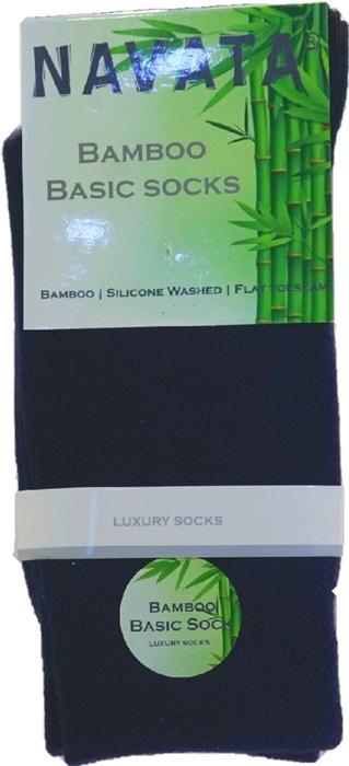 Bamboo basic sock navy 35 38