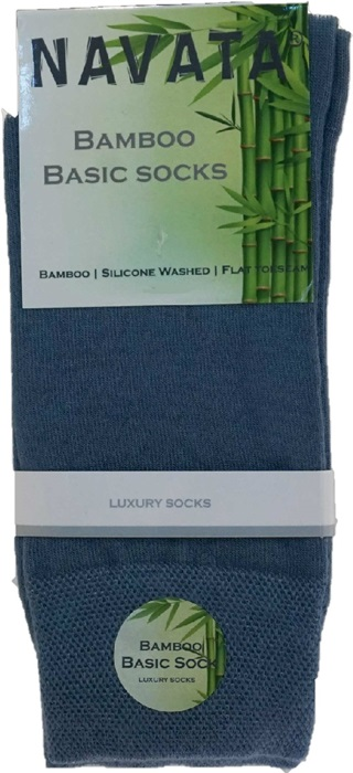 Bamboo basic sock jeans 35 38