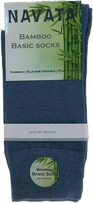 Bamboo basic sock jeans 43 46