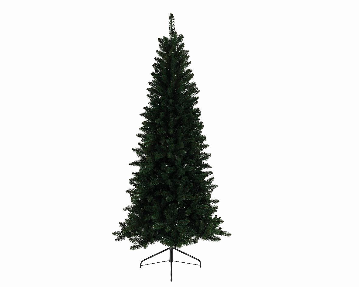 Kunstkerstboom Lodge slim pine h180 cm groen
