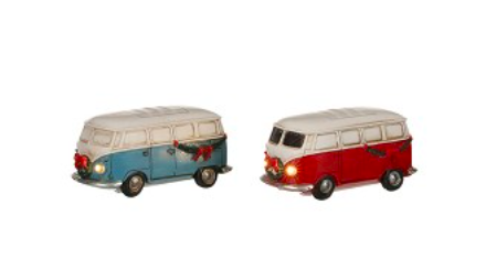 VINTAGE VW BUS OP BATTERIJ