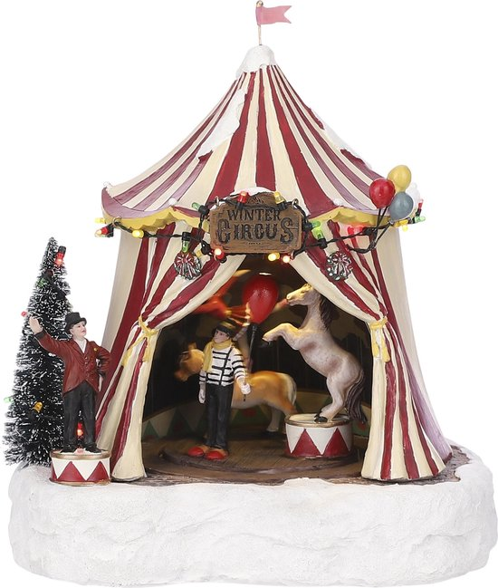 Luville - Winter circus battery operated
