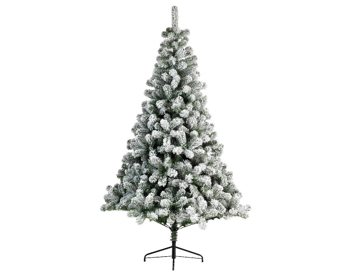 Kunstkerstboom Imperial pine snowy h300 cm groen/wit