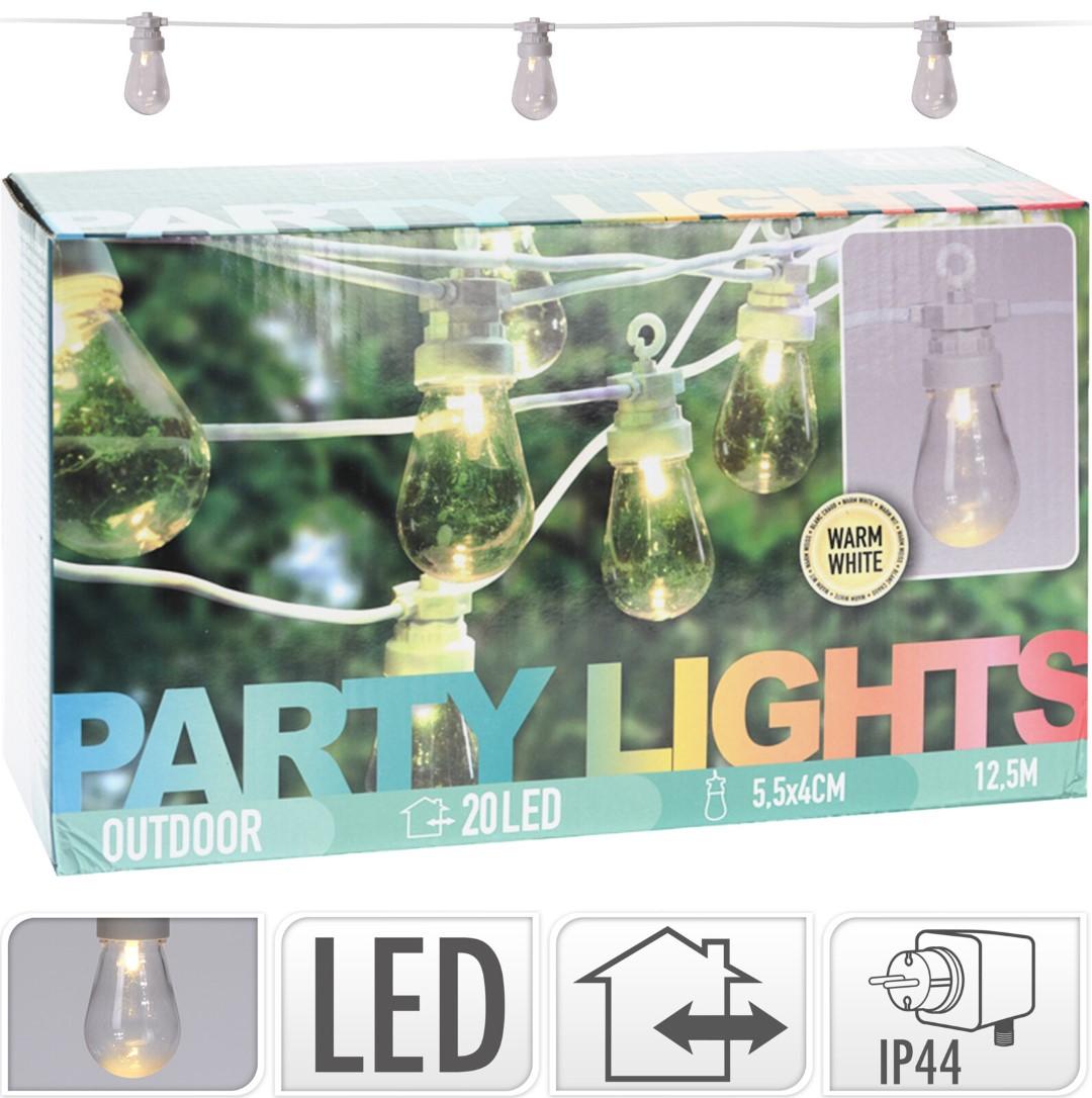 Feestverlichting 20 lamps clea