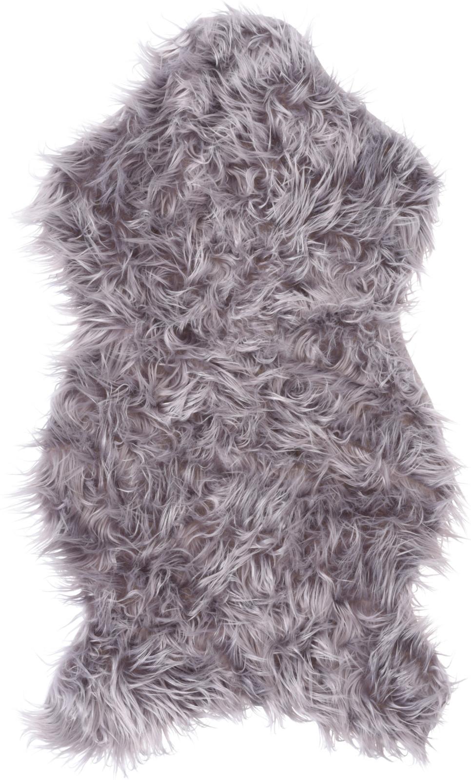 Schapenvacht 50x90cm grijs